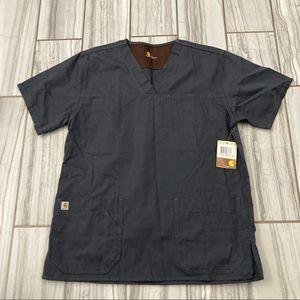 NWT Carhartt scrubs pants and top.